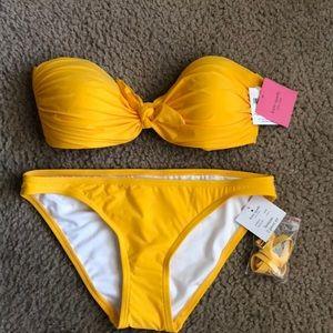 Kate Spade ♠️ 🏝Lemon Cruise 2020.  Bikini   S